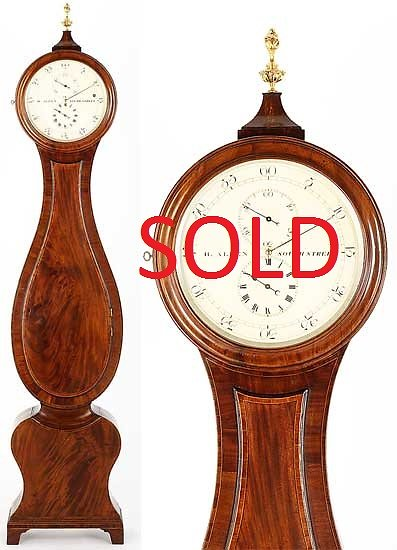Longcase Clocks. 3 Month regulator Sold