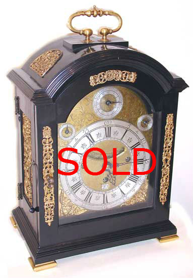 Bracket Clocks. Bushman SOLD