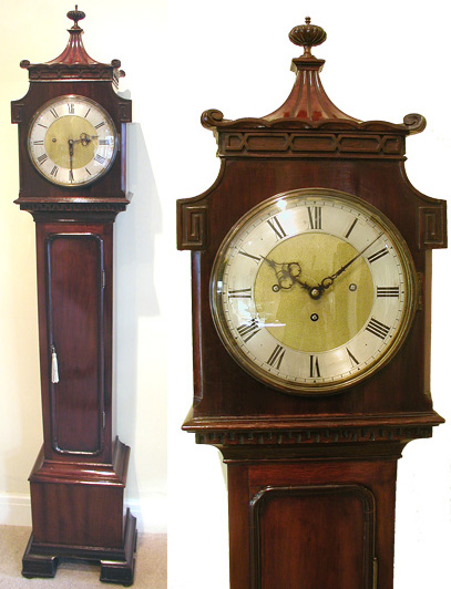Longcase Clocks. Grandaughter clock