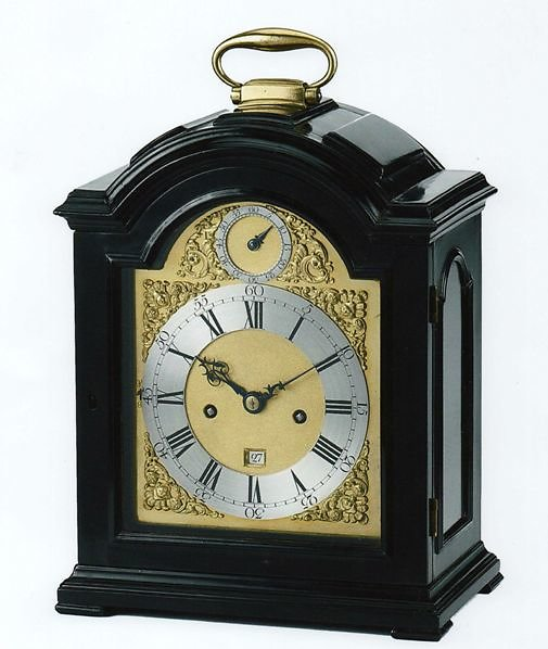 Bracket Clocks. Gray Vulliamy case clock 500