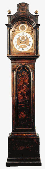 Longcase Clocks. Lacquer 576