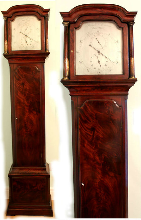 Longcase Clocks. Month reg 1300a