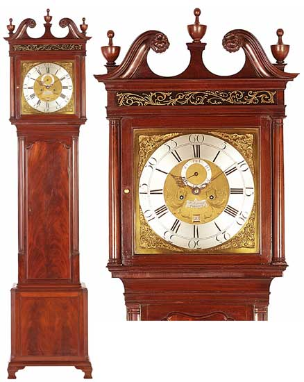 Longcase Clocks. Simcock Prescott 550