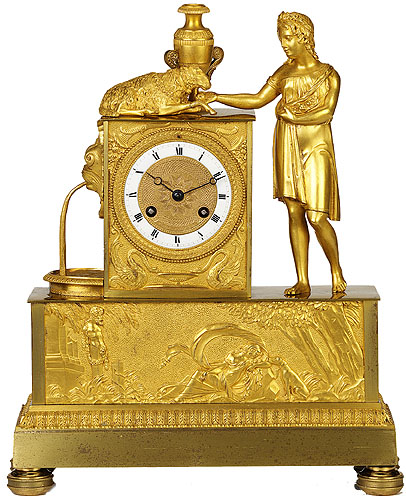 Mantel Clocks . Shepherdess